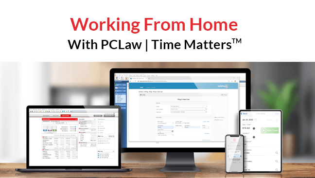 Remote Work Webinar - PCLaw | Time Matters